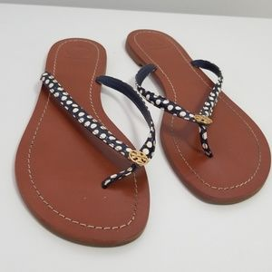EUC tory burch slippers